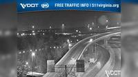 Springfield: I- - MM - SB - Interchange (generally looking east from the west side of the interchange) - Current