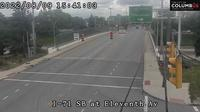 Columbus: City of - I- SB ramp at th Ave - Current