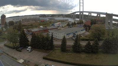 Vista de cámara web de luz diurna desde Stralsund: Rügenbrücke