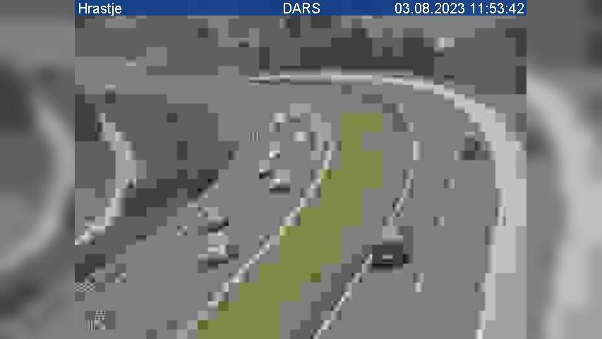Webkamera Mali Kal: A2/E70, Ljubljana − Obrežje, pri Hrastju
