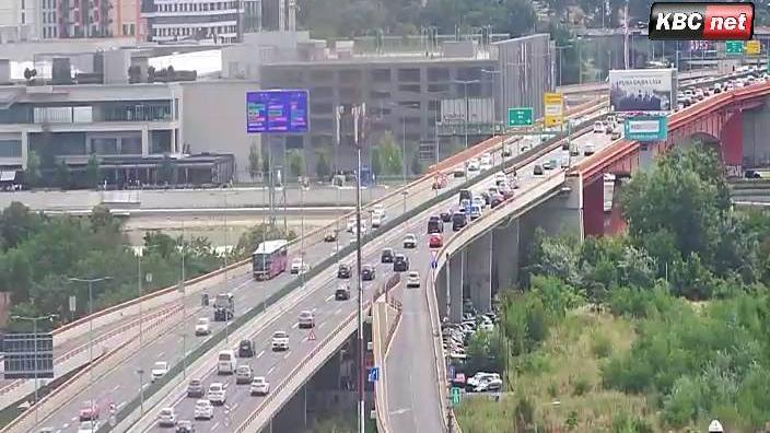 Webcam Novi Belgrade: Belgrade Live − Gazela − Sava centa