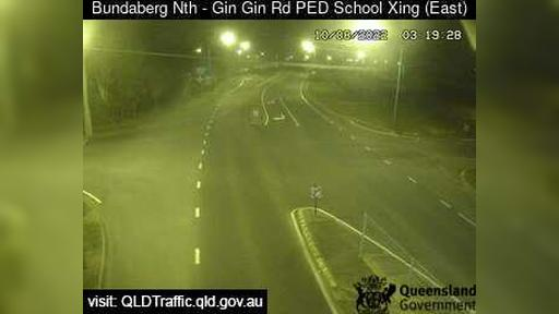 Webcam Bundaberg: North School Pedestrian Crossing − Nort
