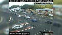 Cairns: North - Captain Cook Highway and Airport Avenue (South) - Day time