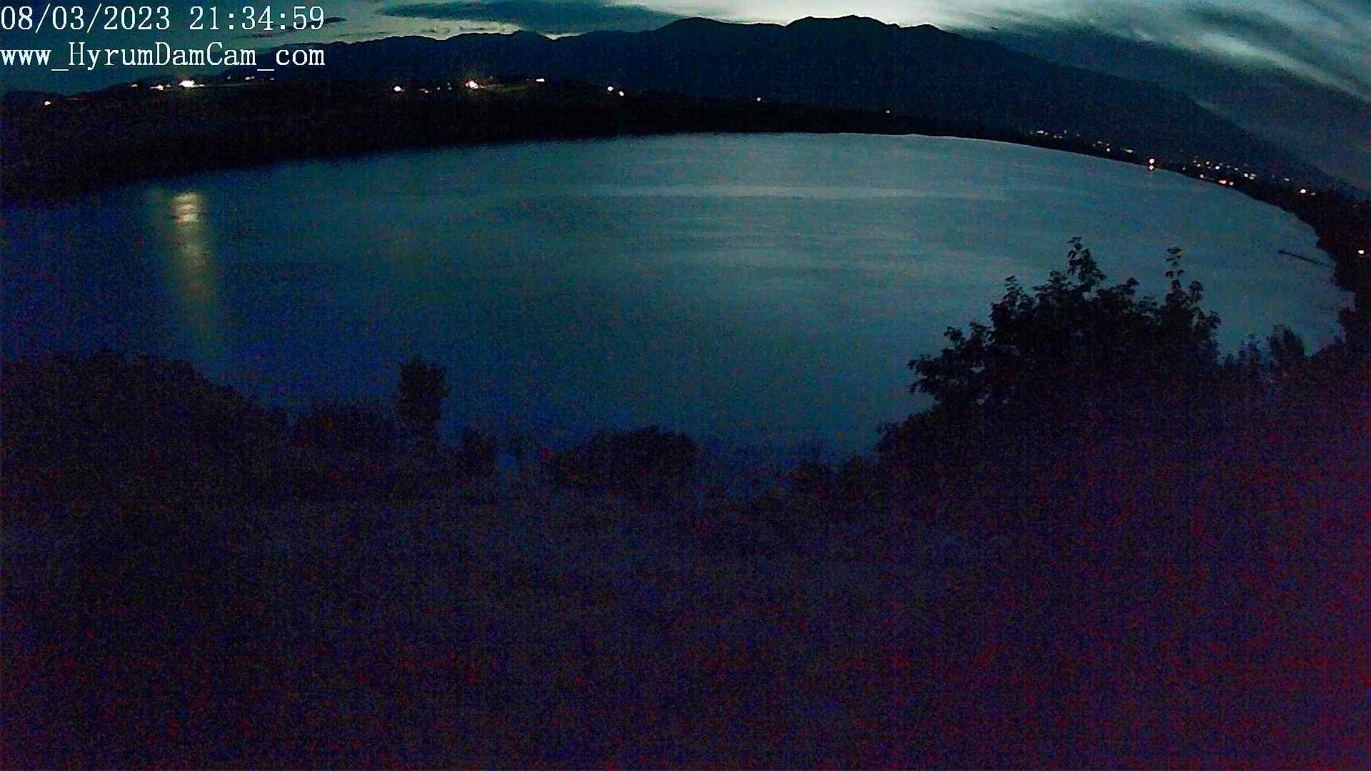 Webcam Hyrum: Reservoir − West