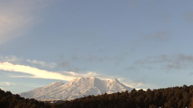Webcam Karioi: Ruapehu volcano (South)