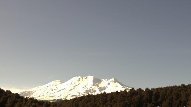 Webkamera Karioi: Ruapehu volcano (South)