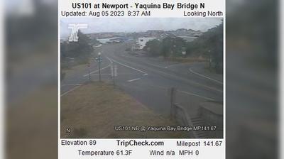 Vignette de Newport webcam à 7:07, oct. 20