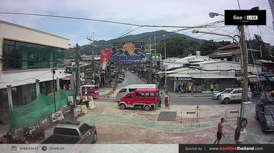 Daylight webcam view from Patong: Thanon Bangla