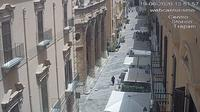 Trapani: Corso Vittorio Emanuele - Overdag