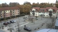 Bad Muskau - Muzakow: Wetter-Cam - Marktplatz - Jour