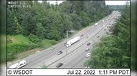 Last daylight view from Olympia: I 5: Capitol Blvd
