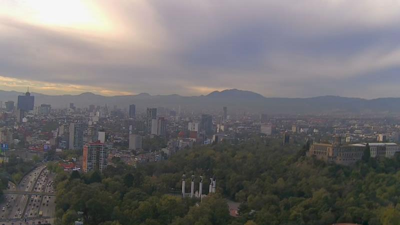 Webcam Polanco: Ciudad de − Chapultepec