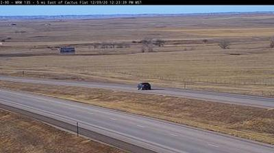 Webkamera Cactus Flat: I-90 near − SD (MM 131)