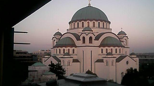 Webcam Belgrade: Hram Svetog Save