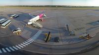 Gdansk: Lech Walesa Airport HD webcam with sound - Aktuell
