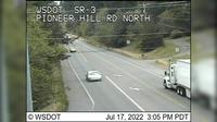 Poulsbo > North: SR  at MP .: Pioneer Hill Rd Looking North - Recent
