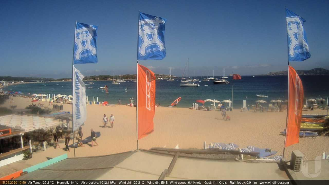 Webcam Porto Pollo › North-West