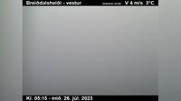 Current or last view Þórshöfn: Finnafjörður