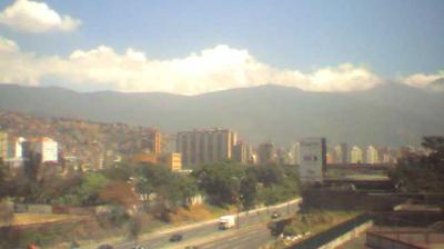 Daylight webcam view from Caracas › North East: El Paraiso