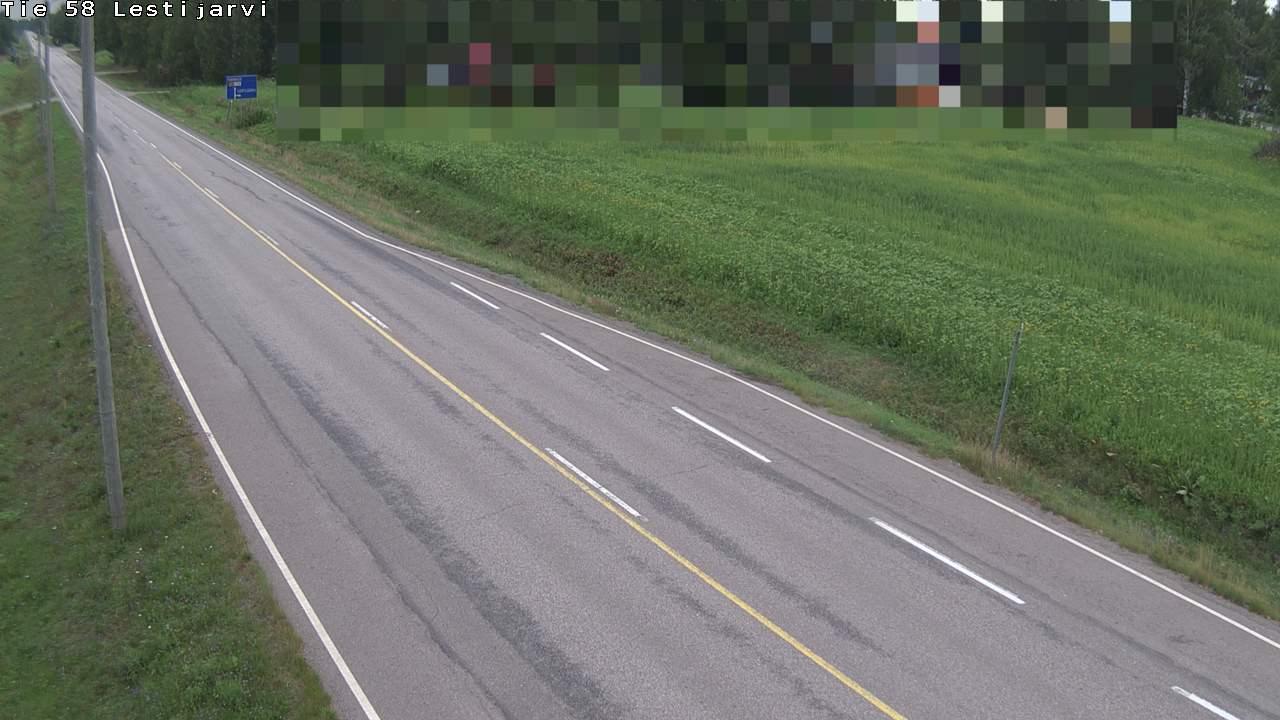 Webcam Lestijärvi: Tie 58
