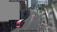 City of London: City Road/Old Street - Overdag
