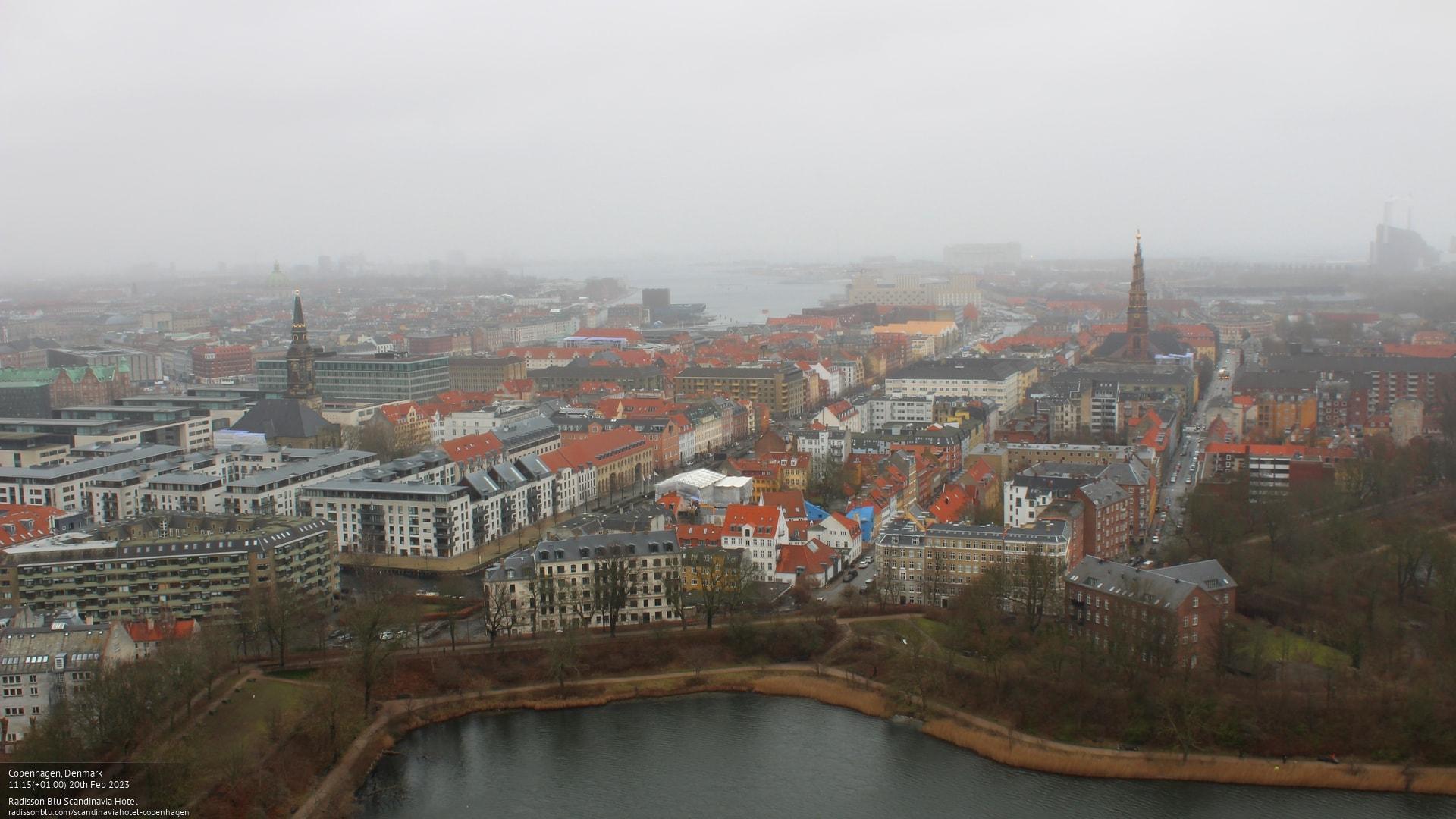 Webkamera Copenhagen: Radisson Blu Scandinavia Hotel