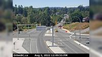 Saanich > South: , Hwy , at Admirals Rd - McKenzie Ave, looking south - Dagtid