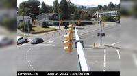 Nanaimo > North-West: , Hwy  at Zorkin Rd/Brechin Rd, looking northbound to Brechin Road - Overdag