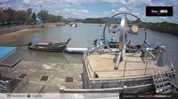 Ban Laem Pho: Krabi - Black Crab Monument - Overdag