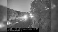 Westerlo › West: I- WB Between Exits  and A - Actuelle