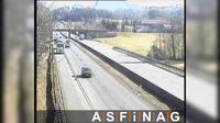 Reitberg: A, zwischen Thalgau und Wallersee, Blickrichtung Wien - Km , - Dagtid