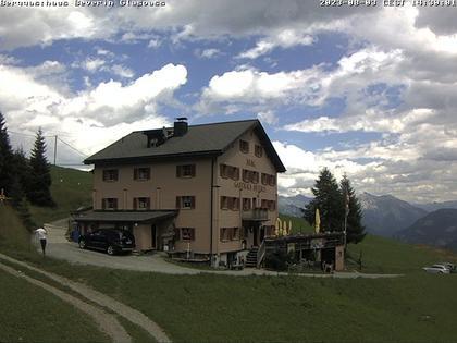 Tschappina: Berggasthaus Beverin