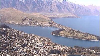 Vue webcam de jour à partir de Queenstown: Skyline
