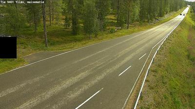 Daylight webcam view from Kolari: Tie 9401 Ylläs, maisematie − Ylläsjärvelle