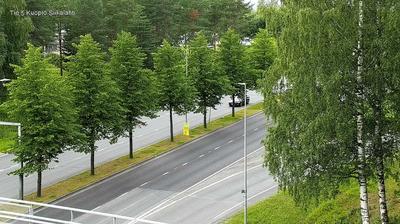 Vista de cámara web de luz diurna desde Kuopio: Tie 5 − Siikalahti − Savilahdelle