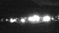 Bergun: Blick auf das Dorf und die Albulalinie