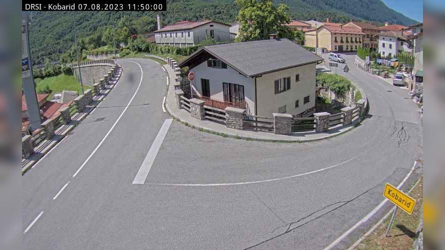 Webcam Kobarid: R1-203, Žaga