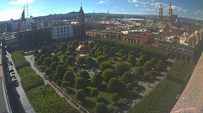 Vue actuelle ou dernière à partir de El Paraíso: León − Centro
