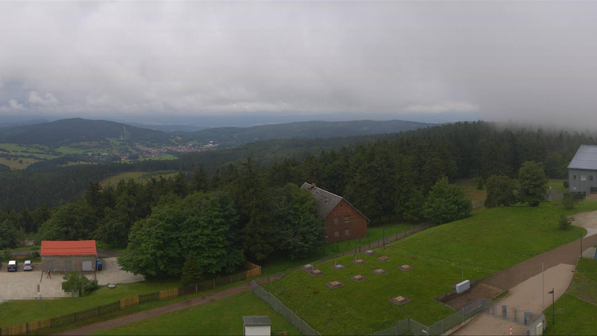 Webcam Großer Inselsberg: 360° HD- Panoramablick Thüringe
