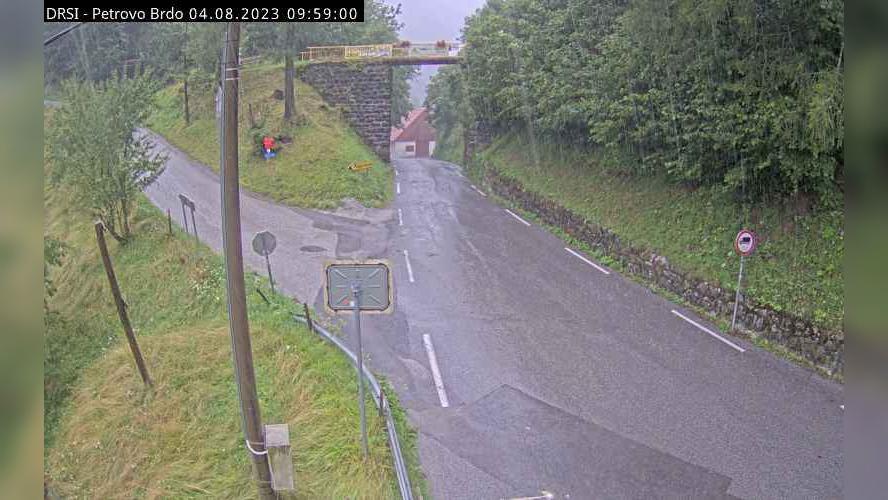 Webcam Petrovo Brdo: R2-403, Podbrdo