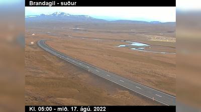 Current or last view from Laugar: Mývatnsheiði