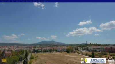 Daylight webcam view from Pylaia › West: Thessaloniki Port of Thessaloniki Thermaikos Kolpos