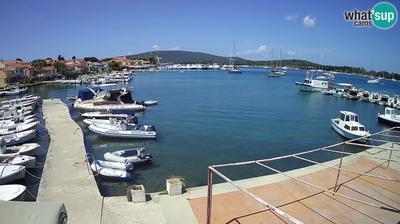 Ilovik: marina view, anchorage