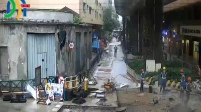 Current or last view from Macau: Avenida de Artur Tamagnini Barbosa Avenida do Conselheiro Borja