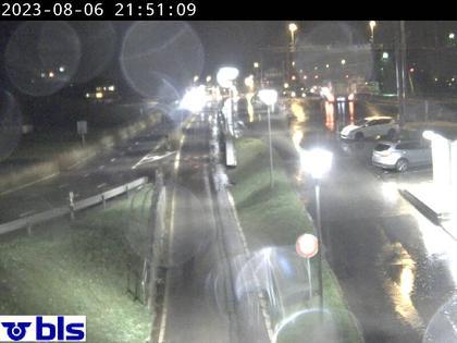 Kandersteg: Autoverlad Lötschberg