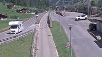 Kandersteg: Autoverlad L�tschberg - Overdag