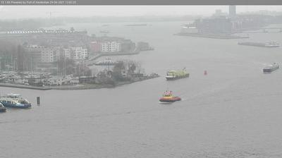 Daylight webcam view from Amsterdam: IJ