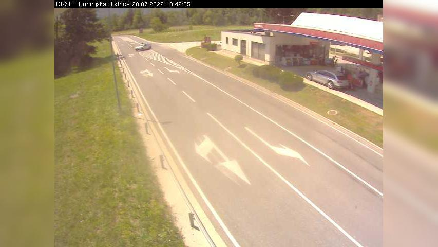 Webcam Bohinjska Bistrica: R1-209, Bitnje − pred Bohinjsk