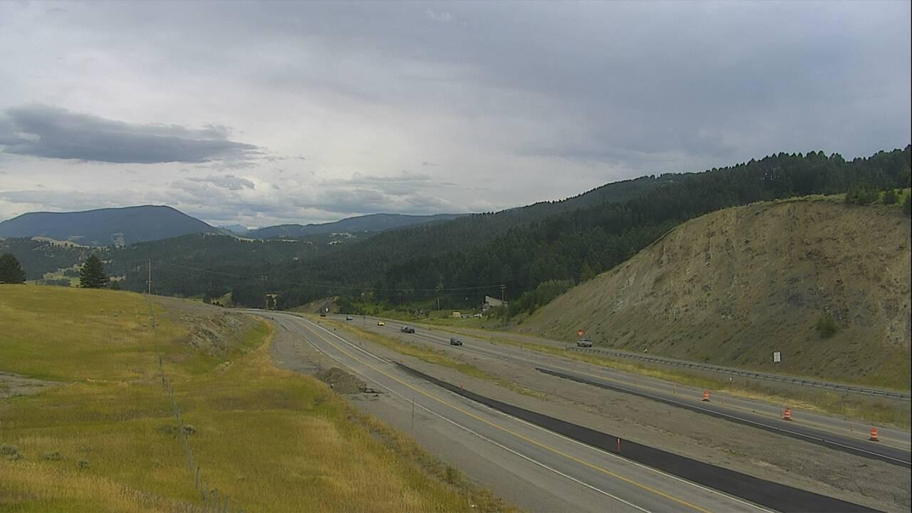 Webcam Muir: Bozeman Pass I-90 MP 321.8 East