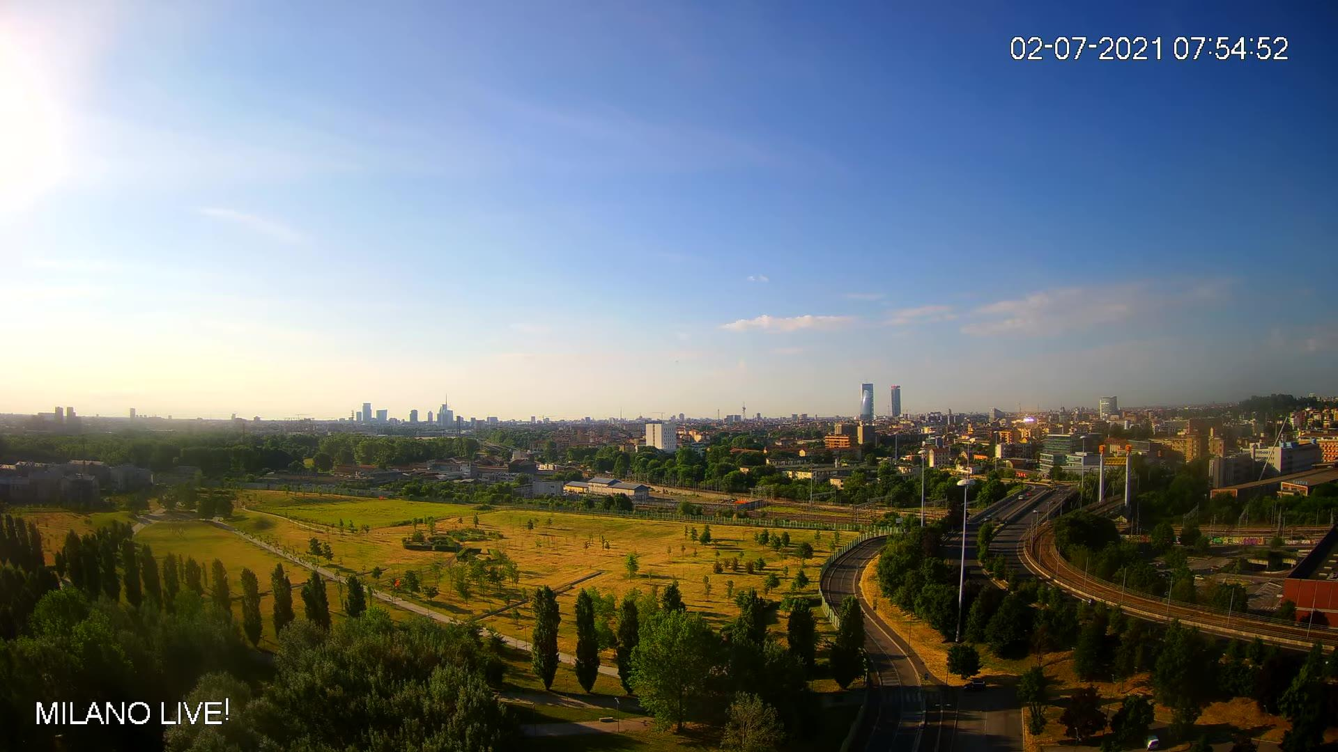 Webcam Milan › South-East: Metropolitan City of Milan